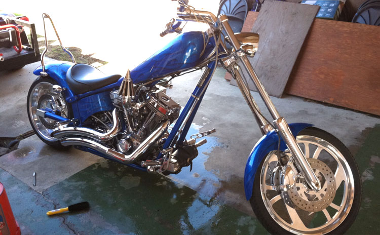Motorcycle Detail : San Diego Mobile Auto Detail Services
